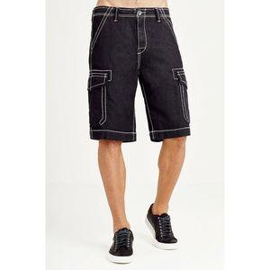True Religion Men's Issac Trooper Cargo Shorts